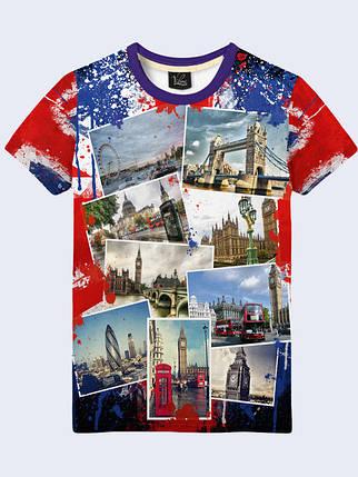 Футболка Фотографии Лондона, фото 2