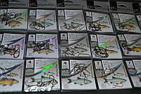 Крючки kamatsu разных 10 пачек