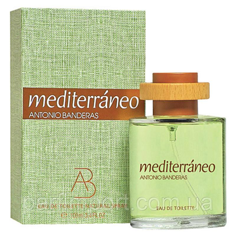 Antonio Banderas Mediterraneo EDT 100 ml туалетна вода чоловіча (оригінал оригінал Іспанія)
