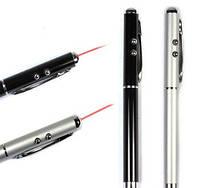 Ручка з лазером і ліхтариком PEN+LASER ZK 21L, Лазерна указка Laser Pen (Лазер Пен), фото 1