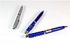 Ручка с лазером и фонариком PEN+LASER ZK 21L, Лазерная указка Laser Pen (Лазер Пен)
