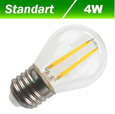 Светодиодная лампа Biom FL-301 G45 4W E27 3000К, фото 2