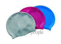 Шапочка для плавания Вestway 26006, силикон, разн. цвета
