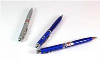 Ручка-указка с лазером и фонариком Laser Pen 3 в 1