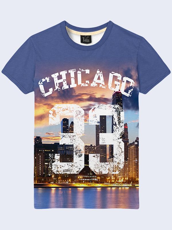 Футболка Ночной Чикаго