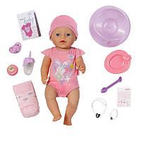Оригинал. Кукла Baby Born Очаровательная малышка с чипом Zapf Creation  819197