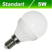 Светодиодная лампа Biom BG-205 G45 5W E14 3000К