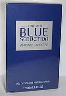 BLUE SEDUCTION ANTONIO BANDERAS 100 мл. оригинал