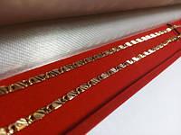 Цепочка позолота  G33 45 см ювелирный сплав с напылением золота