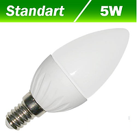 Светодиодная лампа Biom BG-207 С37 5W E14 3000К