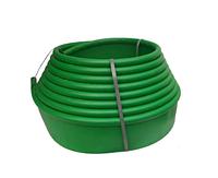 Бордюрная лента для клумб 10 м (зеленая)