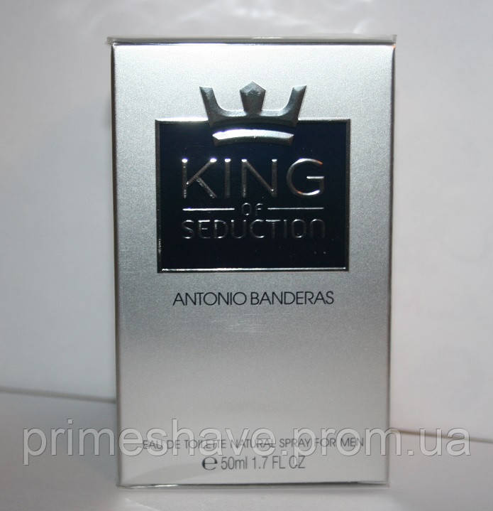 ANTONIO BANDERAS KING OF SEDUCTION 50 мл. оригинал