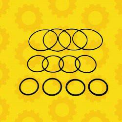 Рем. набор колец уплотн. гильзы (моторокомп-т) Д-240