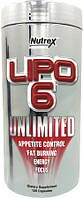 Lipo 6 UNLIMITED Nutrex, 120 капсул