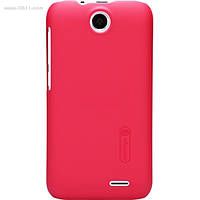 Чехол Nillkin Super Frosted для HTC Desire 310w / Desire 316 bright red + защитная плёнка