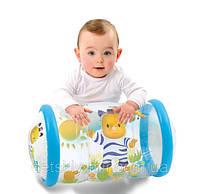 Оригинал. Развивающий надувной цилиндр с шариками погремушками Cotoons Smoby 211318N