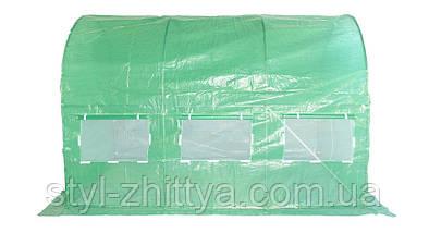 Теплиця з армованої плівки 2х3 м, 6м², фото 2