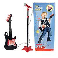 Оригинал. Музыкальный инструмент Гитара и Микрофон со Стойкой Simba 6833223