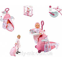 Оригинал. Игровой набор Раскладной Чемодан Baby Nurse Smoby 24032