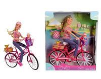 Кукла Steffi с Малышом на Велосипеде Штеффи Simba 5739050