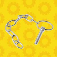Чека М10 задней навески (с кольцом и цепочкой) М-10