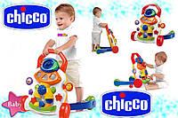 Оригинал. Развивающий учебно игровой центр Ходунки каталка Первые шаги Chicco 65261