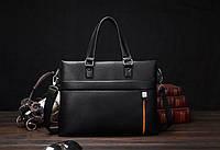 Мужская дорожная повседневная модная стильная кожаная сумка портфель