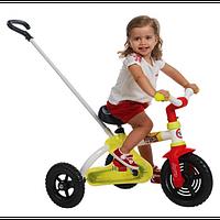 Оригинал. Велосипед трехколесный металлический Маленький Гонщик Smoby 435015