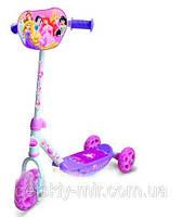 Оригинал. Самокат трехколесный Disney Princess Smoby 450142