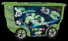 Оригинал. Конструктор на колесах Космос 400 деталей RollerBox Clics CB413