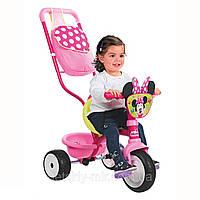 Оригинал. Велосипед трехколесный Be Move Minnie Mouse Confort Smoby 444202