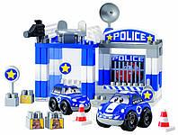 Оригинал. Конструктор Полицейский участок в коробке 57 деталей Ecoiffier 3081