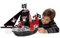 Оригинал. Конструктор Пиратский Корабль в коробке 29 деталей Ecoiffier 3130