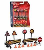 Оригинал. Игровой набор Дорожные Знаки Majorette 2053001