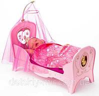 Оригинал. Интерактивная Кроватка для куклы Сладкие Сны Baby Born Zapf Creation 819562