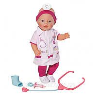 Оригинал. Костюм Врача для куклы Ubranko Baby Born Zapf Creation 819340