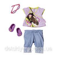 Оригинал. Набор Коллекция Балерины для куклы Baby Born Zapf Creation 819357CF