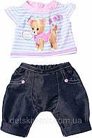 Оригинал. Набор Одежды со звуковыми эффектами для куклы Baby Born Zapf Creation 817612C