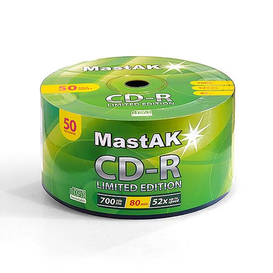 """CD-R диск MastAK """"Limited Edition"""" ( bulk50)"""