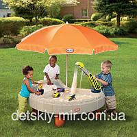 Оригинал. Детская Песочница Столик Веселая Стройка Little Tikes 401N
