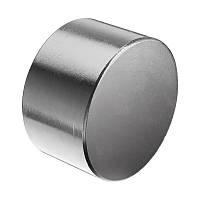 Неодимовый магнит хром 50мм/20мм (70 кг)