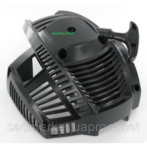 Стартер в сборе мотокосы Castel Garden XB 27/32 D (черный)