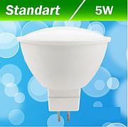 Светодиодная лампа Biom BB-401 5W MR16 GU 5.3 3000К