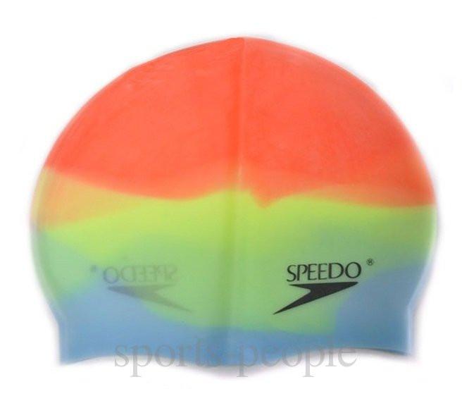 Шапочка для плавания Speedo, силикон, разн. цвета