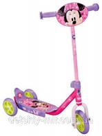 Оригинал. Самокат трехколесный Disney Minnie Mouse Smoby 450145