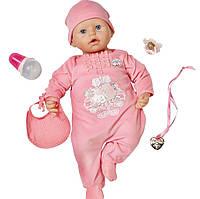 Оригинал. Интерактивный пупс настоящая малютка Baby Annabell Zapf Creation 792810