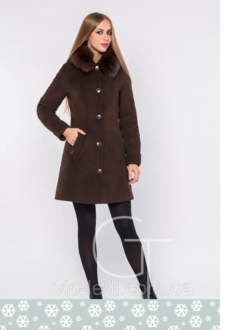4d078995f4c Зимнее пальто женское X-Woyz LS-8593 самая низкая цена в Украине ...