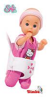 Оригинал. Кукла Steffi мама с детками Штеффи Simba 5730290