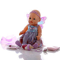 Оригинал.  Интерактивная кукла Baby Born Фея 820698 Zapf Creation