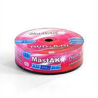 """Диски MastAK DVD+R DL """"Limited Edition"""" ( Bulk25)"""